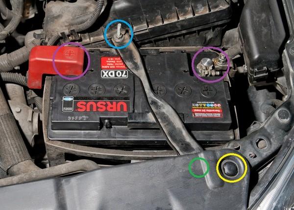 cambiare la batteria dell 39 auto istruzioni e consigli pratici la tua auto. Black Bedroom Furniture Sets. Home Design Ideas
