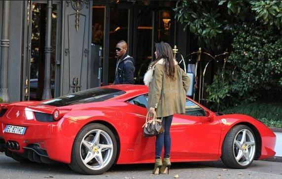 Auto di Balotelli - Ferrari 458 Spider