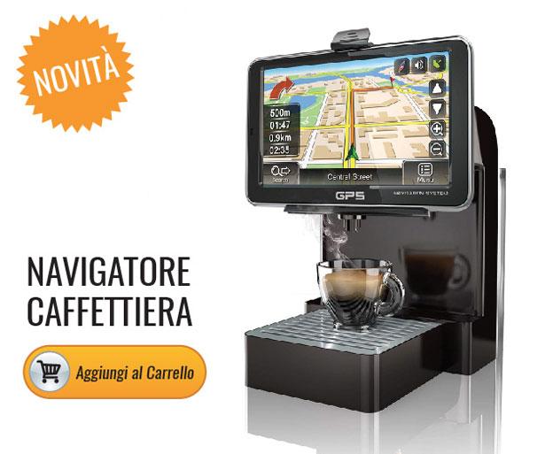Navigatore caffettiera