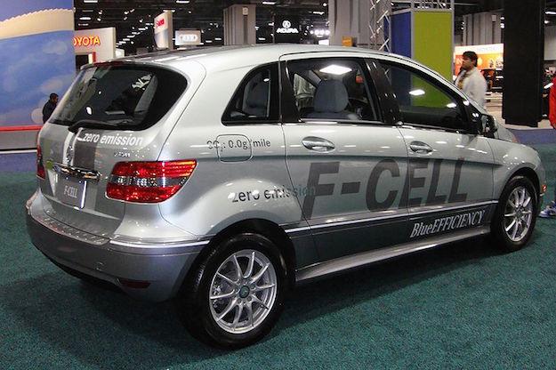 Mercedes a idrogeno