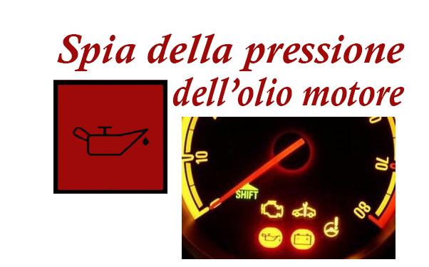 spia olio motore
