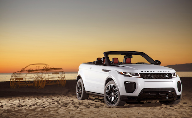 range rover evoque decapottabile