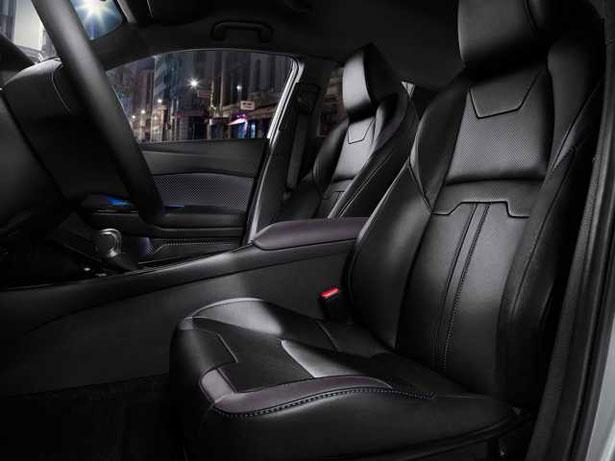 Toyota C-HR - sedili in pelle