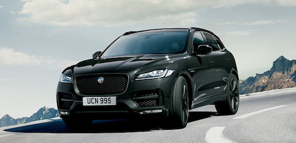 Jaguar F pace dark edition
