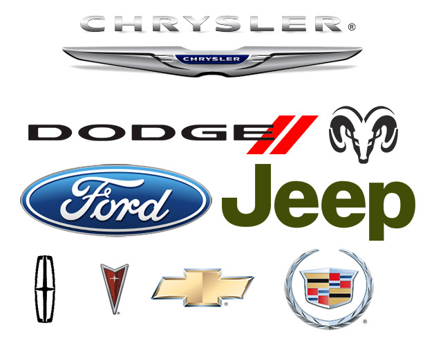 loghi auto americane