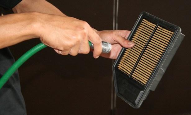 come pulire filtro aria motore