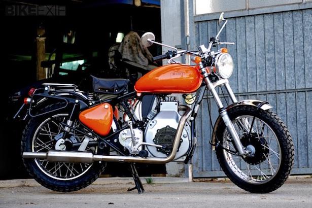 motocicletta diesel tedesca