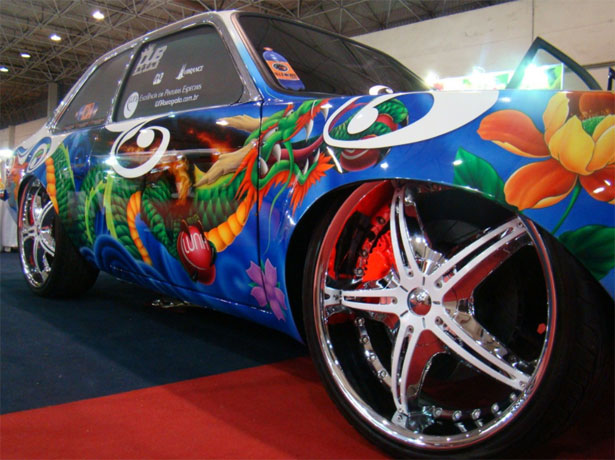 auto dipinta