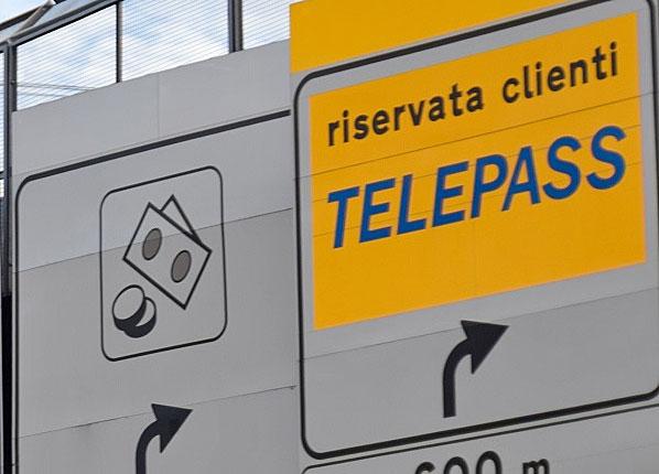 telepass cartello